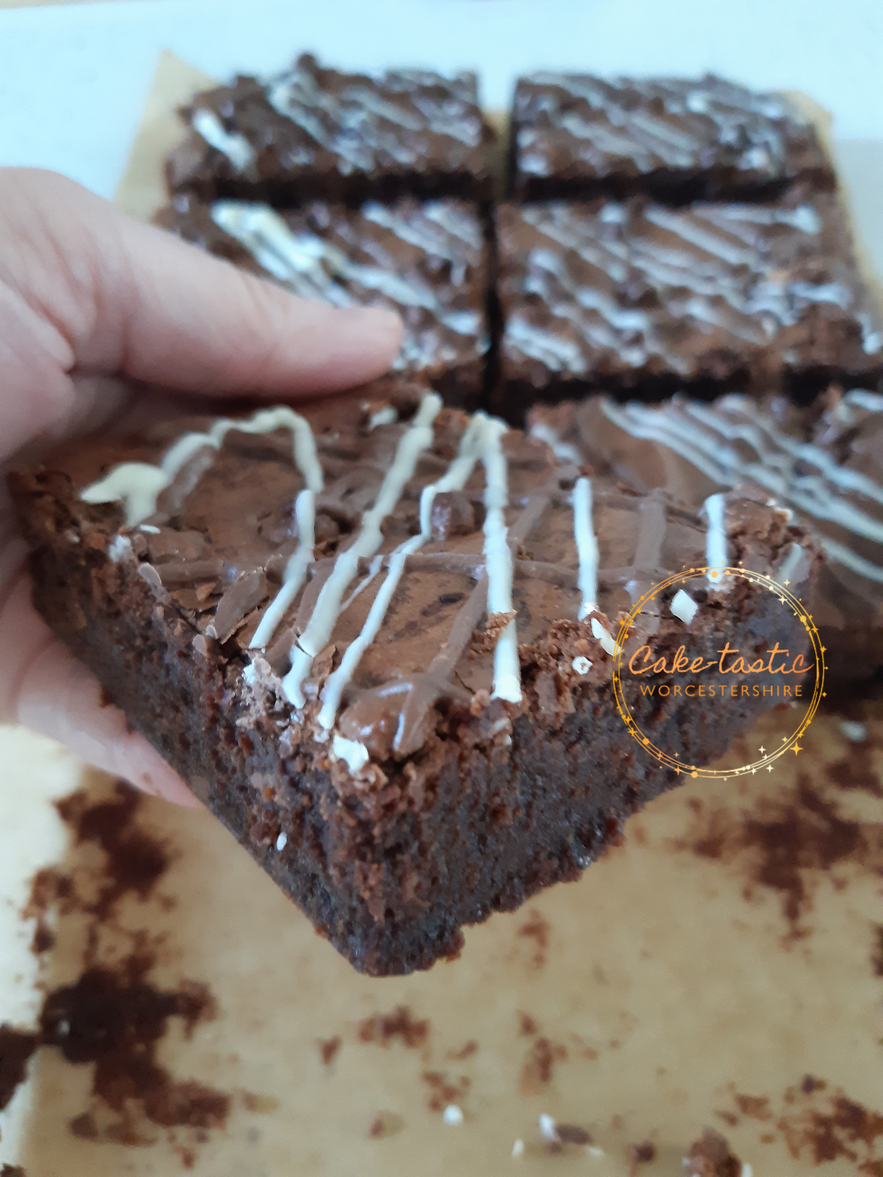Brownie Box - Double Choc Chip Brownies